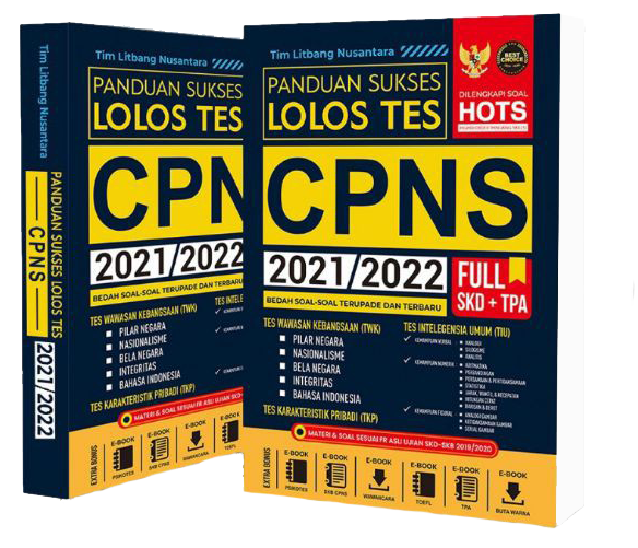 Buku Panduan Sukses Lolos Tes CPNS 2021